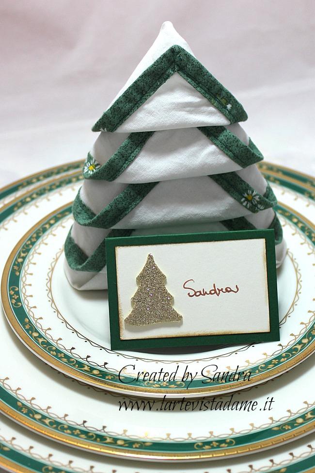 Natale fai da te segnaposto natalizio decorazione tavola - Tavola natale fai da te ...
