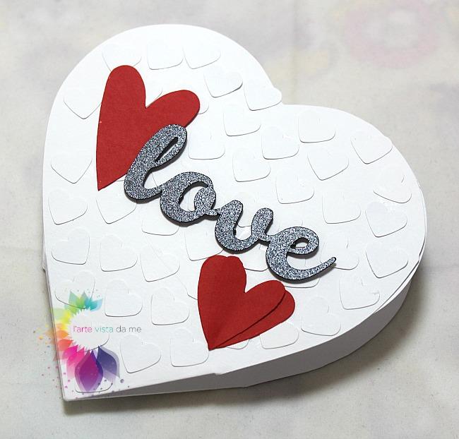 spesso Card Pop Up Cuore San Valentino-Biglietto Auguri San Valentino  EB58